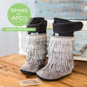We Make Shoes and Boots for AFO Braces!